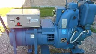 getlinkyoutube.com-1 KVD 8 SL . diesel generator