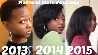Natural Hair Journey | 2013-2015 | 2 Years Post Big Chop!
