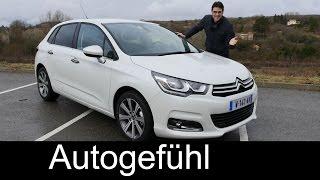 getlinkyoutube.com-Citroen C4 Facelift Selection test driven FULL REVIEW - Autogefühl