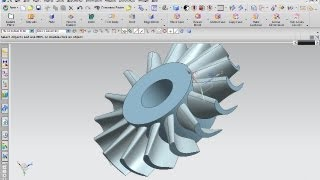 Turbine - Siemens NX 8 Surface Training - Patch opening
