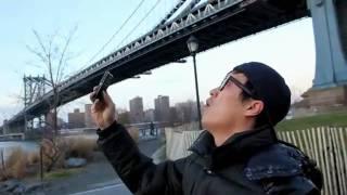 """getlinkyoutube.com-""""Seres humanos"""" vuelan sobre Nueva York"""