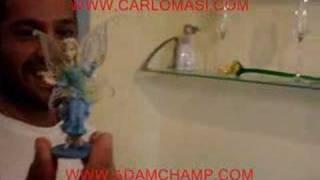 Adam Champ and Carlo Masi at home in Rome