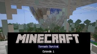 getlinkyoutube.com-Minecraft Tornado Survival episode 1