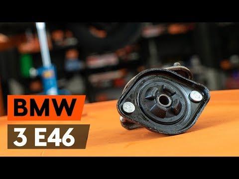Как заменить заднюю опору амортизатора на BMW 3 (E46) (ВИДЕОУРОК AUTODOC)