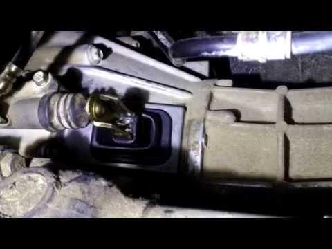 Работа вилки сцепления Hover H5 с пыльником Mitsubishi.