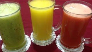 3 لترات عصير بنكهات مختلفة منعش لرمضان بتكلفة بسيطة   Jus économique Pour Ramadan