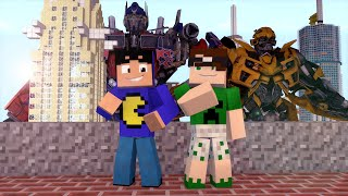 getlinkyoutube.com-Minecraft Mod: TRANSFORMERS! (Tanques, Jatos // Transformers Mod)