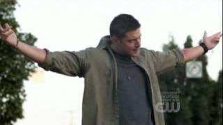"""getlinkyoutube.com-Dean Sings """"Eye of the Tiger"""" - Supernatural Blooper"""