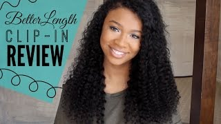 getlinkyoutube.com-BetterLength Curly Clip In Extension Review
