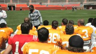 Inky Johnson's Motivational Speech To The Vols On April 13, 2013
