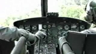 getlinkyoutube.com-Bell UH-1H Nap of the Earth flight training.