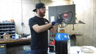 Finnegan's Garage Ep.12: How to Fill a Nitrous Bottle Without Losing a Limb.
