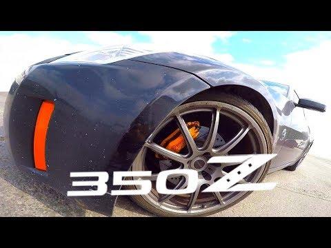 Nissan 350Z разгон и квотер POV drive
