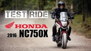 getlinkyoutube.com-2016 Honda NC750X DCT Test Ride
