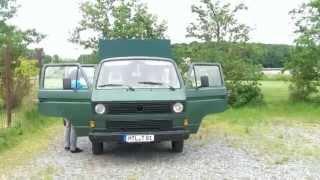 getlinkyoutube.com-VW T3 Doka Wohnmobil - Eigenbau