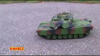 getlinkyoutube.com-Heng Long M1 Abrams vs Hobby Engine M1 Abrams