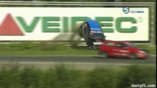 Best racing crashes of 2009