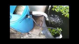 getlinkyoutube.com-DIY Moving Bed Filter - Tide Machine Without Bell Siphon