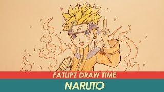 getlinkyoutube.com-Fatlipz Draw time : Naruto - นารูโตะ