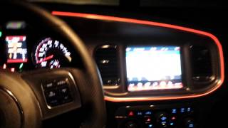 getlinkyoutube.com-Nitwit Garage: Glow wire install Dodge Charger SRT