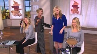 "getlinkyoutube.com-KISS Pro InstaWave Diamond Ceramic 1"" Automatic Curler with Kerstin Lindquist"