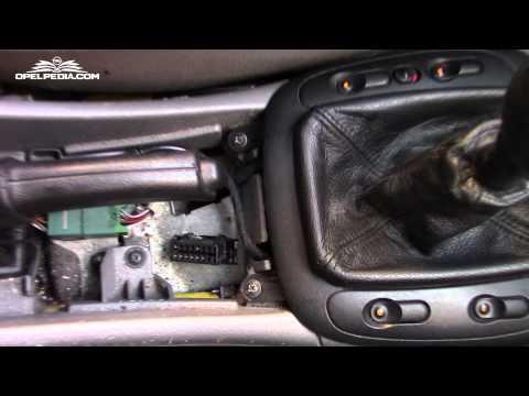 Opel Vectra B OBD-II Diagnostic Port Location