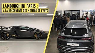 Métiers de l'Auto : Concession Lamborghini
