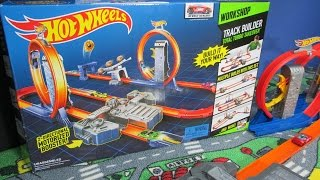 getlinkyoutube.com-Track Builder Total Turbo Takeover Hot Wheels Track System Review