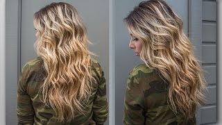 getlinkyoutube.com-How to : Perfect Beach Wave Hair!