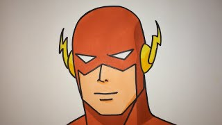 How To Draw The Flash Step By Step easy