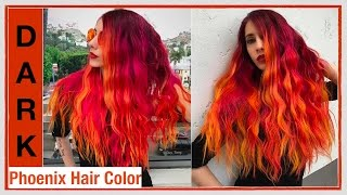 getlinkyoutube.com-Dark Phoenix Hair Color