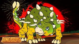 getlinkyoutube.com-Ankylosaurus - Dinosaur Songs from Dinostory by Howdytoons