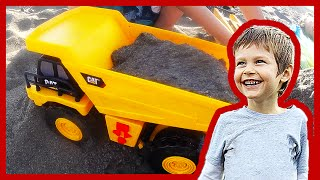 getlinkyoutube.com-New Toy Dump Truck For Children