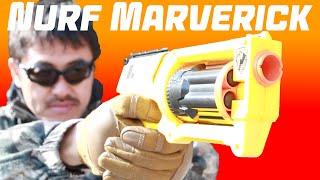 getlinkyoutube.com-ナーフ Nerf Maverick REV-6 を マック堺が まじめにレビューしてみた。#172