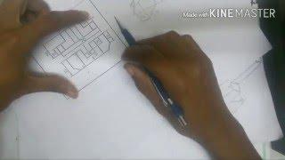 getlinkyoutube.com-رسم هندسي درس المساقط بطريقة بسيطة/ engineering drawing