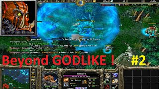 getlinkyoutube.com-DotA 6.83d - Juggernaut, Yurnero Beyond GODLIKE ! #2