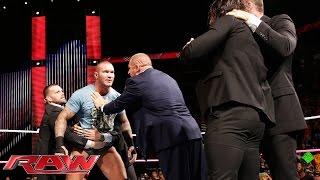 getlinkyoutube.com-Randy Orton defies The Authority: Raw, October 27, 2014
