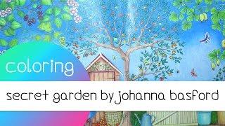 getlinkyoutube.com-Coloring Book Journey - 016 Secret Garden by Johanna Basford