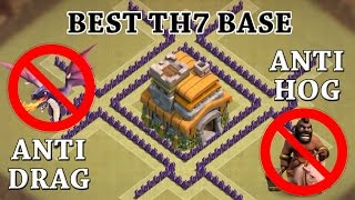 """getlinkyoutube.com-Clash Of Clans - TH7 WAR BASE! 