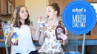 "getlinkyoutube.com-""What's in My Mouth"" Challenge 