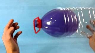 getlinkyoutube.com-Magia: Cómo hacer el truco del globo que no se deshincha