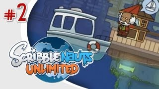 getlinkyoutube.com-EVIL BOAT - Scribblenauts Unlimited (Wii U) w/ Ze - Episode 2