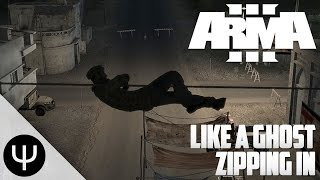 getlinkyoutube.com-ARMA 3: Like A Ghost — Zipping In!