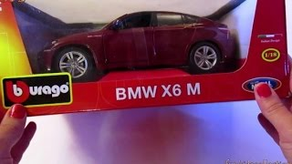 getlinkyoutube.com-BMW X6 M - 1:18 Diecast Model Car  Collection (Unboxing) - funkidscollection.com