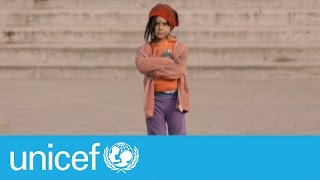 Would you stop if you saw this little girl on the street? | UNICEF width=