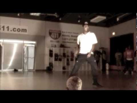 "sean bankhead - ""ghetto/dance for you"" the-dream ft big sean. class choreography"