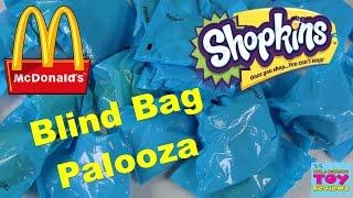 getlinkyoutube.com-McDonalds Shopkins Palooza | Happy Meal Toys | Complete Collection? | PSToyReviews