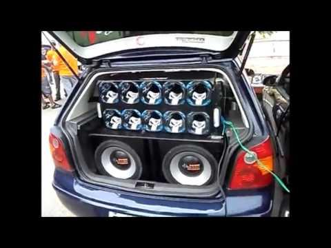 Disputa de Som Automotivo Graves Violento  Ao Som Do MC BISTEKA - Santa Fé Ou 1100  VERSAO 2 ) ( DJ