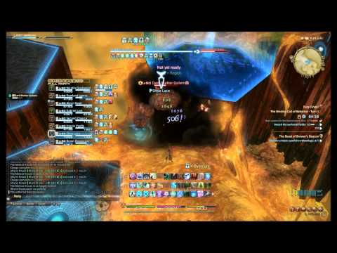 Binding Coil of Bahamut turn 1 White Mage POV with commentary