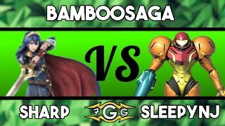 7GG Bamboo Saga - Sharp (Lucina, Diddy) Vs. Sleepy (Doc, Samus) Losers Side